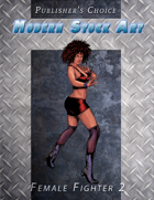 Publisher's Choice - Modern: Female Fighter 2