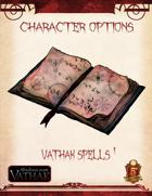 Vathak 5e Character Options - Vathak Spells 1