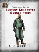 Publisher's Choice - Fantasy Characters:  Old Warrior