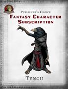 Publisher's Choice - Fantasy Characters:  Tengu