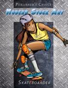 Publisher's Choice - Modern: Skateboarder
