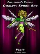 Publisher's Choice - Quality Stock Art: Pixie