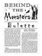 Behind the Monsters: Bulette