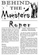 Behind the Monsters: Roper