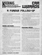 Katanas & Trenchcoats: Car Wizards