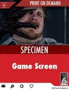 Specimen Board Game Screen - Print on Demand