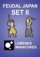LVMENES Minis - Feudal Japan - Set 2