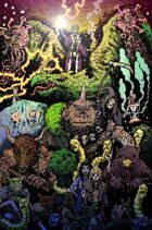 Dungeon World Monsters Poster
