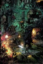 Dungeon World RIGHT (3) Fronts  Poster