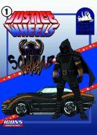 Justice Wheels #1 Black Scarab