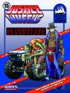 Justice Wheels #15 Baron Bloodthane [ICONS]