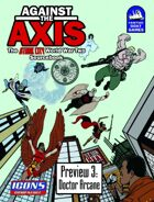 Against the Axis KS Preview: Doctor Arcane