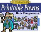 Printable Pawns:  Basic Dungeoneers