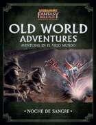 Warhammer Fantasy, 4º ed. - Noche de sangre