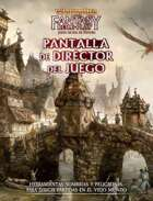 Warhammer Fantasy 4º ed. - Pantalla del Director de juego