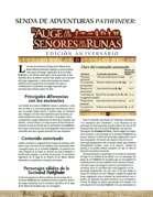 Pathfinder 1ª ed. - Hoja de crónica El Auge de los Señores de las Runas