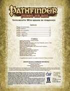 Pathfinder 1ª ed. - Rasgos de personaje