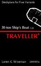 30-ton Ship's Boat Deckplans 1.01