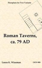 Roman Taverns, ca. 79 AD