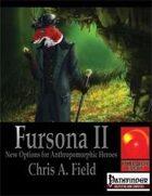Fursona II -New Options for Anthropomorphic Heroes