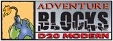 Adventue Blocks -D20 Modern