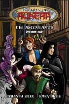 Legends of Aukera: The Ascendants V1 (graphic novel)