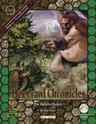 Hex Crawl Chronicles 4: The Shattered Empire (Swords and Wizardry)