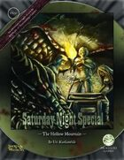 Saturday Night Special 1: The Hollow Mountain (Swords and Wizardry)