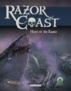 Razor Coast Heart of the Razor (Swords and Wizardry)