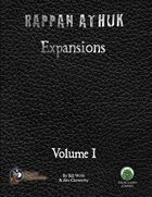 Rappan Athuk Expansion: Volume 1 (Swords and Wizardry)
