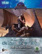 The Northlands Series 6: One Night in Valhalla (Swords and Wizardry)