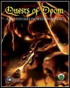 Quests of Doom (Swords and Wizardry)