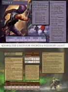 Swords & Wizardry Light - Character Cards