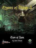 Quests of Doom 4: Cave of Iron (Swords and Wizardry)