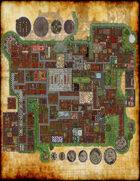 Tegel Manor Maps