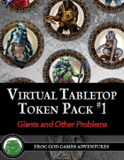 Virtual Tabletop Pack #1 Giants and Other Problems