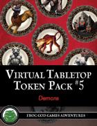 Virtual Tabletop Pack #5 Demons