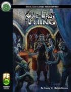 One Last Thing (PF)