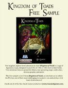 Kingdom of Toads Free Sample