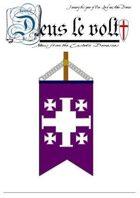 DEUS LE VOLT! Crusades era wargames campaign newspapers