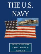 WW1 U.S. Navy fleet lists for Challenge & Reply 2nd edition rules