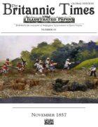 November 1857 Scramble for Empire Victorian Colonial wargames campaign newspaper