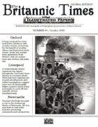 October 1858 Scramble for Empire Victorian Colonial wargames campaign newspaper