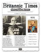 Scramble for Empire March 1859 Victorian Colonial wargames campaign newspaper