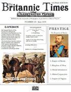Scramble for Empire June 1859 Victorian Colonial wargames campaign newspaper