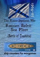 Russo-Japanese War fleet: Russian Baltic Sea Fleet (for the Battle of Tsushima)