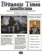 Scramble for Empire August 1859 Victorian Colonial wargames campaign newspaper