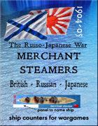 Russo-Japanese War: Merchant steamer ships (for the Battle of Tsushima, Port Arthur, etc.)