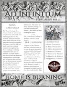 Rome is Burning Februarius 818 auc Newspaper