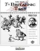 Scramble for Empire Victorian Colonial Steampunk wargames campaign newspaper November 1860